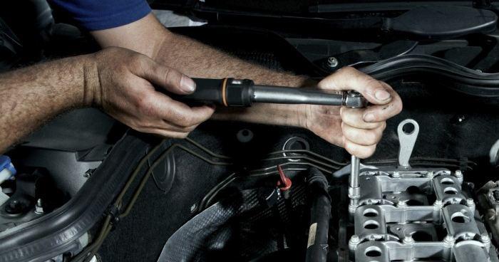 ремонт бензинового двигателя