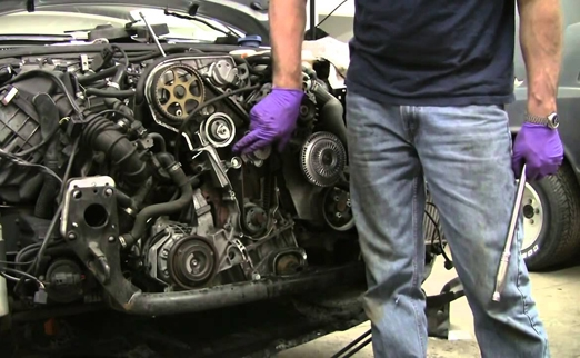 ремонт ГРМ двигателя