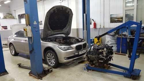 сто ремонт двигателя минск
