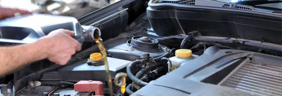 замена масла в двигателе в Минске